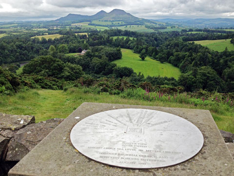 Scotts View of the Eildon Hills, Borders, Scotland